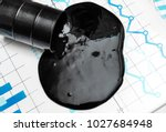 crude oil spilled from...