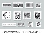 set of different types of... | Shutterstock .eps vector #1027690348