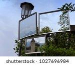 gutenberg castle in vaduz ... | Shutterstock . vector #1027696984