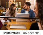 students getting ready for... | Shutterstock . vector #1027704784