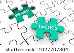 strategy tactics accomplish...   Shutterstock . vector #1027707304