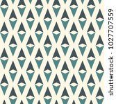 seamless pattern with simple... | Shutterstock .eps vector #1027707559