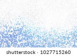 light blue  yellow vector... | Shutterstock .eps vector #1027715260