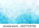 light blue vector doodle...   Shutterstock .eps vector #1027719730