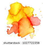 colorful abstract watercolor... | Shutterstock .eps vector #1027722358