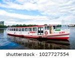 hamburg  germany   september 07 ...   Shutterstock . vector #1027727554