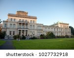 Small photo of Essen, Germany - October 23, 2011: The Villa Huegel is a mansion in Bredeney. It belonged to the Krupp family of industrialists and was built by Alfred Krupp during 1873 as a residence.