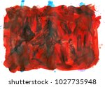 colorful abstract watercolor... | Shutterstock .eps vector #1027735948