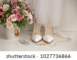 bridal accessories for luxury... | Shutterstock . vector #1027736866