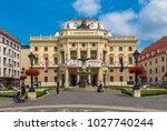 bratislava  slovakia   july 27  ...   Shutterstock . vector #1027740244