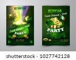 vector st. patrick s day poster ...   Shutterstock .eps vector #1027742128