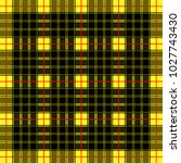 scottish cage  yellow celtic.... | Shutterstock .eps vector #1027743430