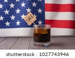 discount against the background ... | Shutterstock . vector #1027743946