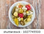Mixed Pickles In Bowl