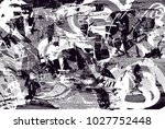 distressed background in black... | Shutterstock .eps vector #1027752448