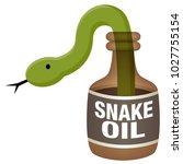 an image of a snake oil bottle.
