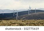 wind turbines providing a... | Shutterstock . vector #102775619