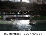 Boat Passes Underneath The...