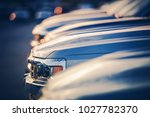 new vehicles in dealer stock.... | Shutterstock . vector #1027782370