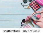 women's accessories item with... | Shutterstock . vector #1027798810