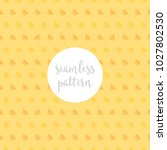 sweet bee seamless pattern 3