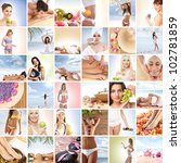 beautiful spa and health... | Shutterstock . vector #102781859