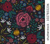 Floral Seamless Pattern. Flora...