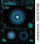 sci fi futuristic crosshair....