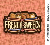 vector logo for french sweets ... | Shutterstock .eps vector #1027886290
