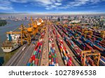 logistics and transportation of ... | Shutterstock . vector #1027896538