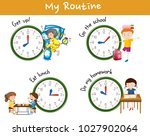 children activities at... | Shutterstock .eps vector #1027902064