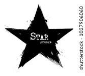 star shape . grunge style ....   Shutterstock .eps vector #1027906060