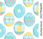 vector seamless endless pattern.... | Shutterstock .eps vector #1027906690