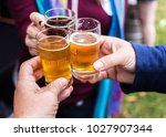 group of friend celebration...   Shutterstock . vector #1027907344