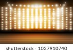 stage and spotlight. vector... | Shutterstock .eps vector #1027910740