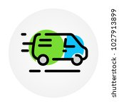 car icon. delivery of goods.... | Shutterstock .eps vector #1027913899