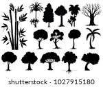 sihouette different types of... | Shutterstock .eps vector #1027915180