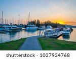 background of sailboat base... | Shutterstock . vector #1027924768