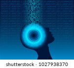 artificial intelligence. a.i.... | Shutterstock .eps vector #1027938370