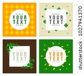saint patricks day creative... | Shutterstock .eps vector #1027941370