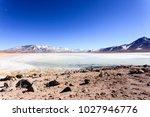 laguna blanca landscape bolivia....   Shutterstock . vector #1027946776