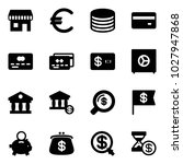 solid vector icon set   duty... | Shutterstock .eps vector #1027947868