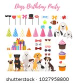 vector  cartoon style set of... | Shutterstock .eps vector #1027958800