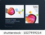 set of design brochure ...   Shutterstock .eps vector #1027959214