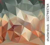 abstract polygonal mosaic... | Shutterstock .eps vector #1027985764