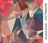 abstract polygonal mosaic... | Shutterstock .eps vector #1027986058