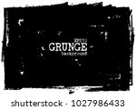 grunge chalkboard background .... | Shutterstock .eps vector #1027986433