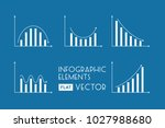 business infographic elements...   Shutterstock .eps vector #1027988680