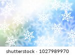 light blue  green vector... | Shutterstock .eps vector #1027989970
