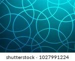 light blue vector indian curved ... | Shutterstock .eps vector #1027991224